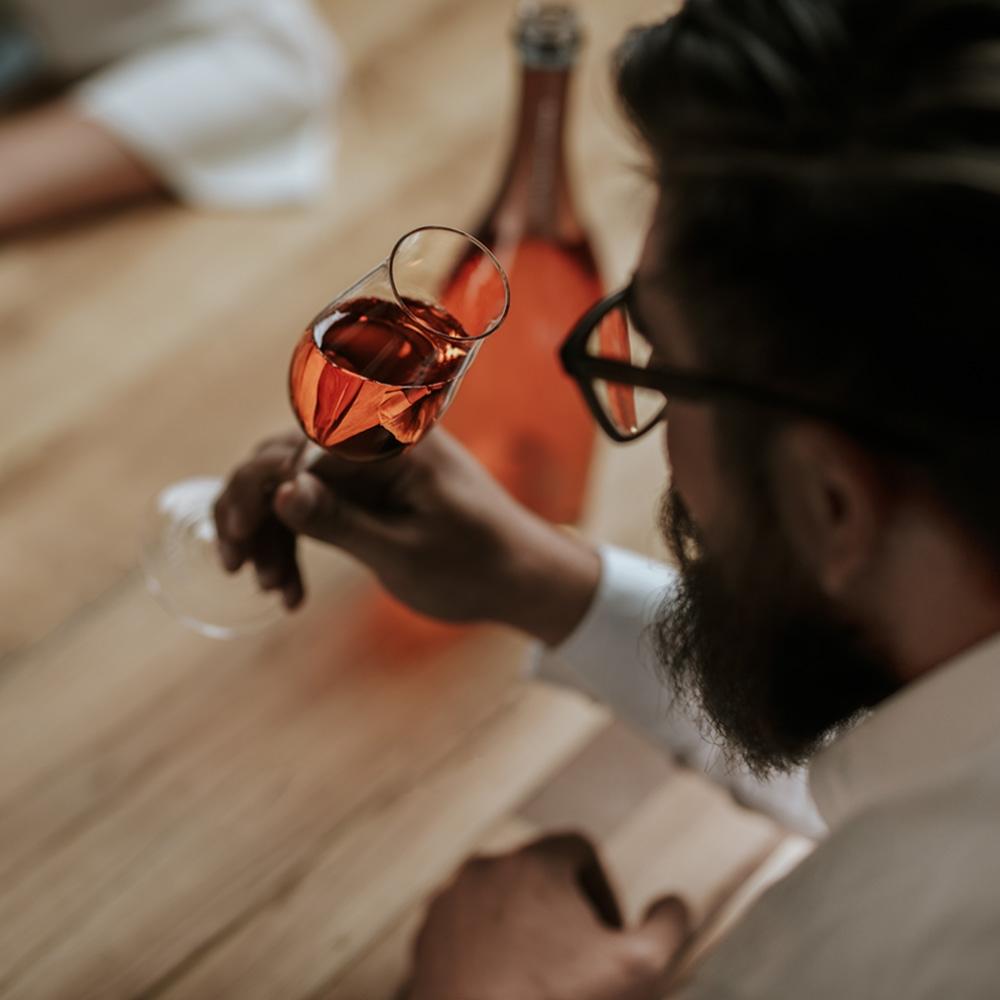 Menger-Krug Verkostung Rosé
